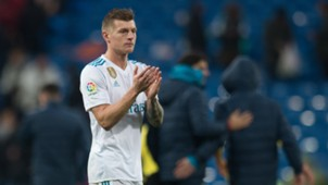 Toni Kroos Real Madrid 14012018