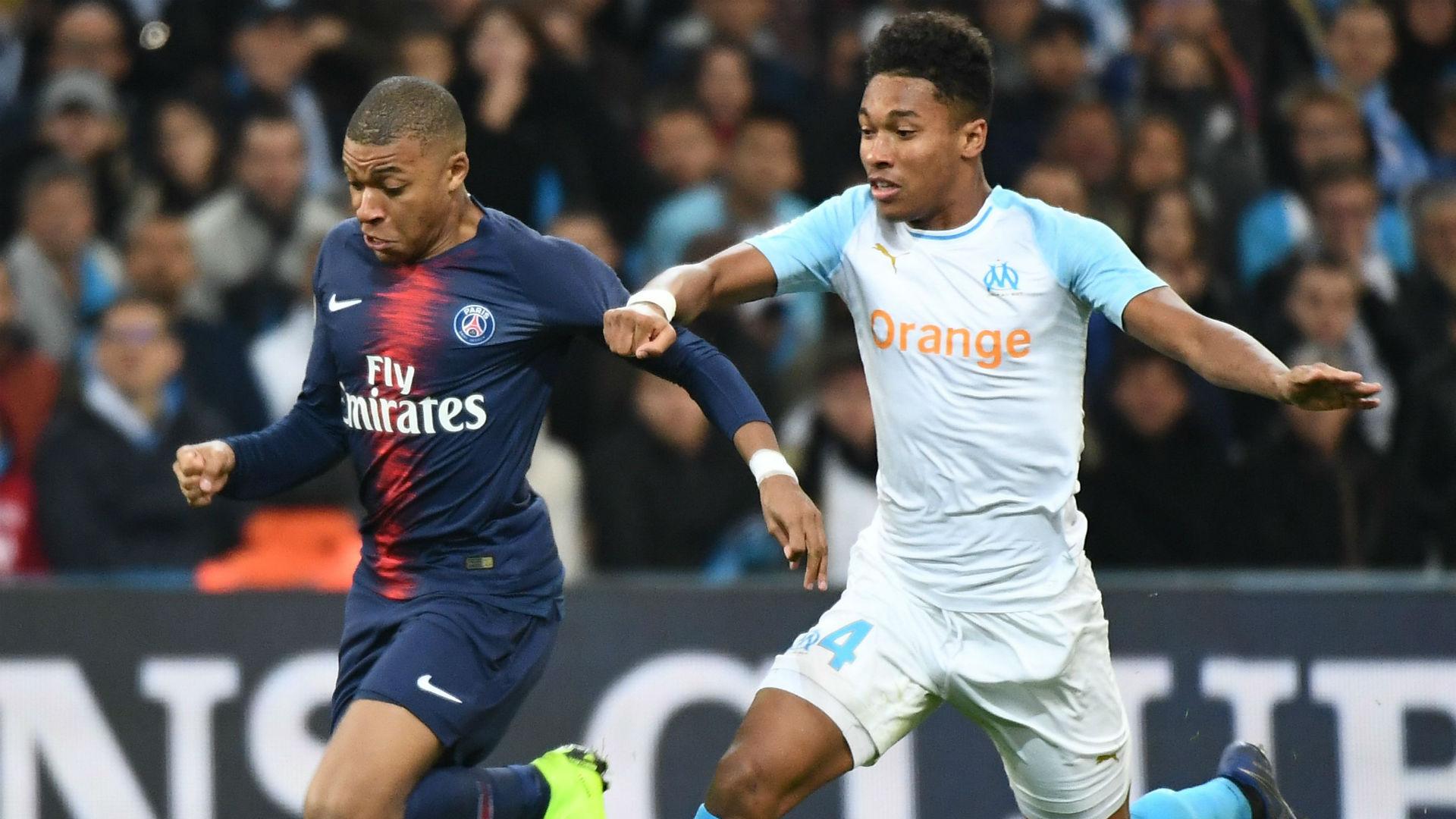 Kylian Mbappe Marseille PSG Ligue 1 28102018
