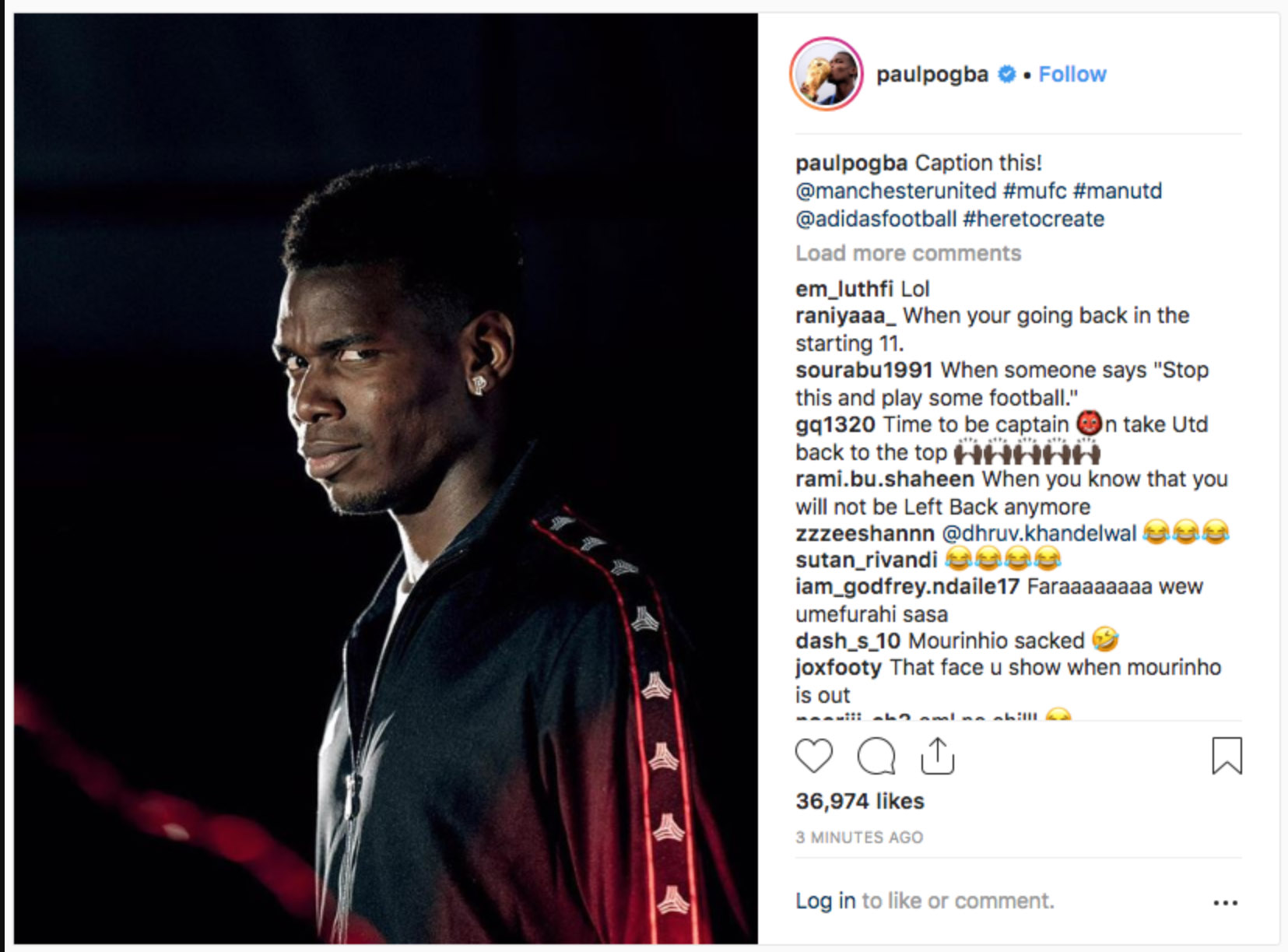 Paul Pogba Instagram