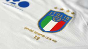Italy's shirt vs Argentina in memory of Astory
