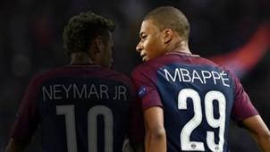 Neymar Kylian Mbappe