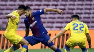 Luis Suarez Borja Herrera Ximo Navarro Camp Nou Barcelona Las Palmas LaLiga 01102017