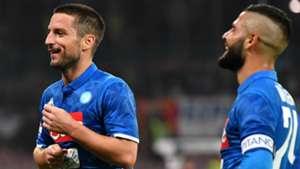Dries Mertens Lorenzo Insigne Napoli Empoli Serie A