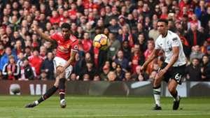 Marcus Rashford Manchester United Liverpool Premier League