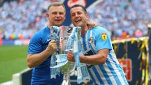 Mark Robins Michael Doyle Coventry City Football League 2 playoff 05282018