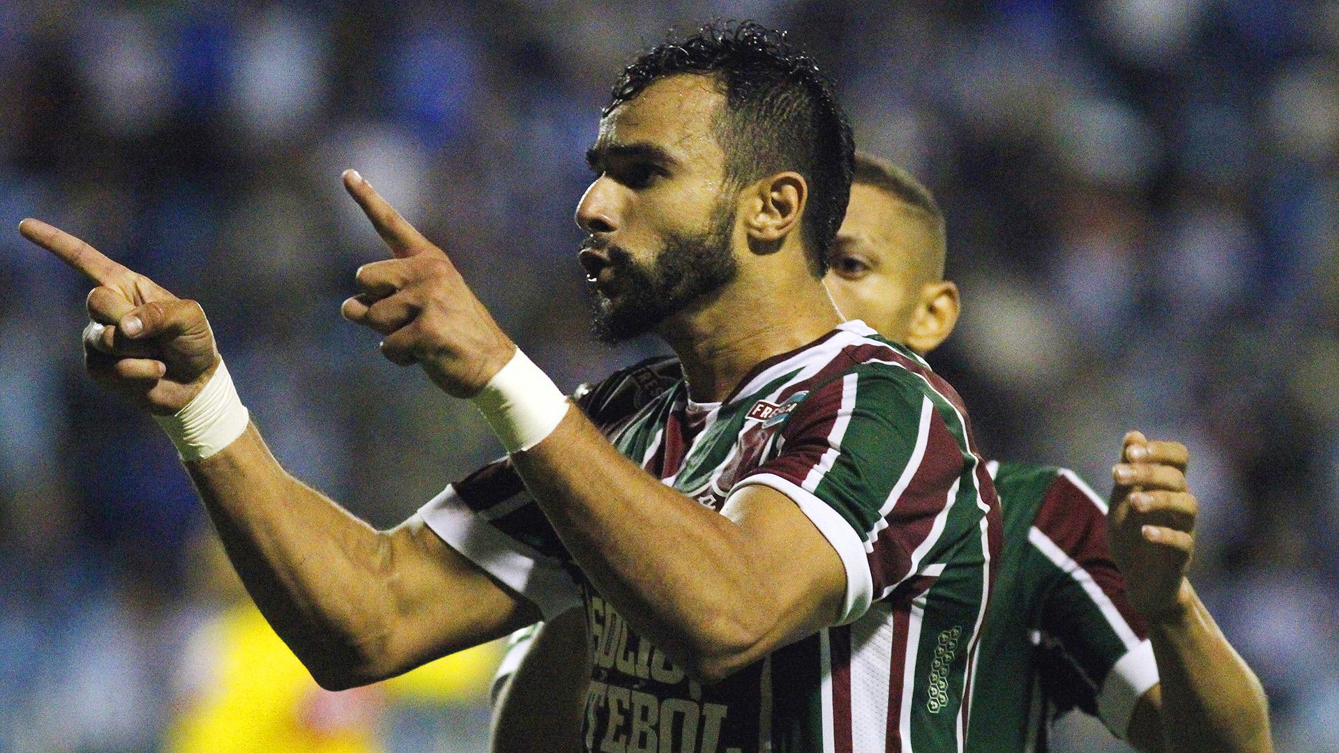 Henrique Dourado Avai Fluminense Brasileirao Serie A 21062017
