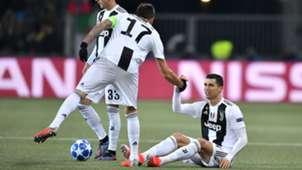 Cristiano Ronaldo Juventus Champions League 12122018