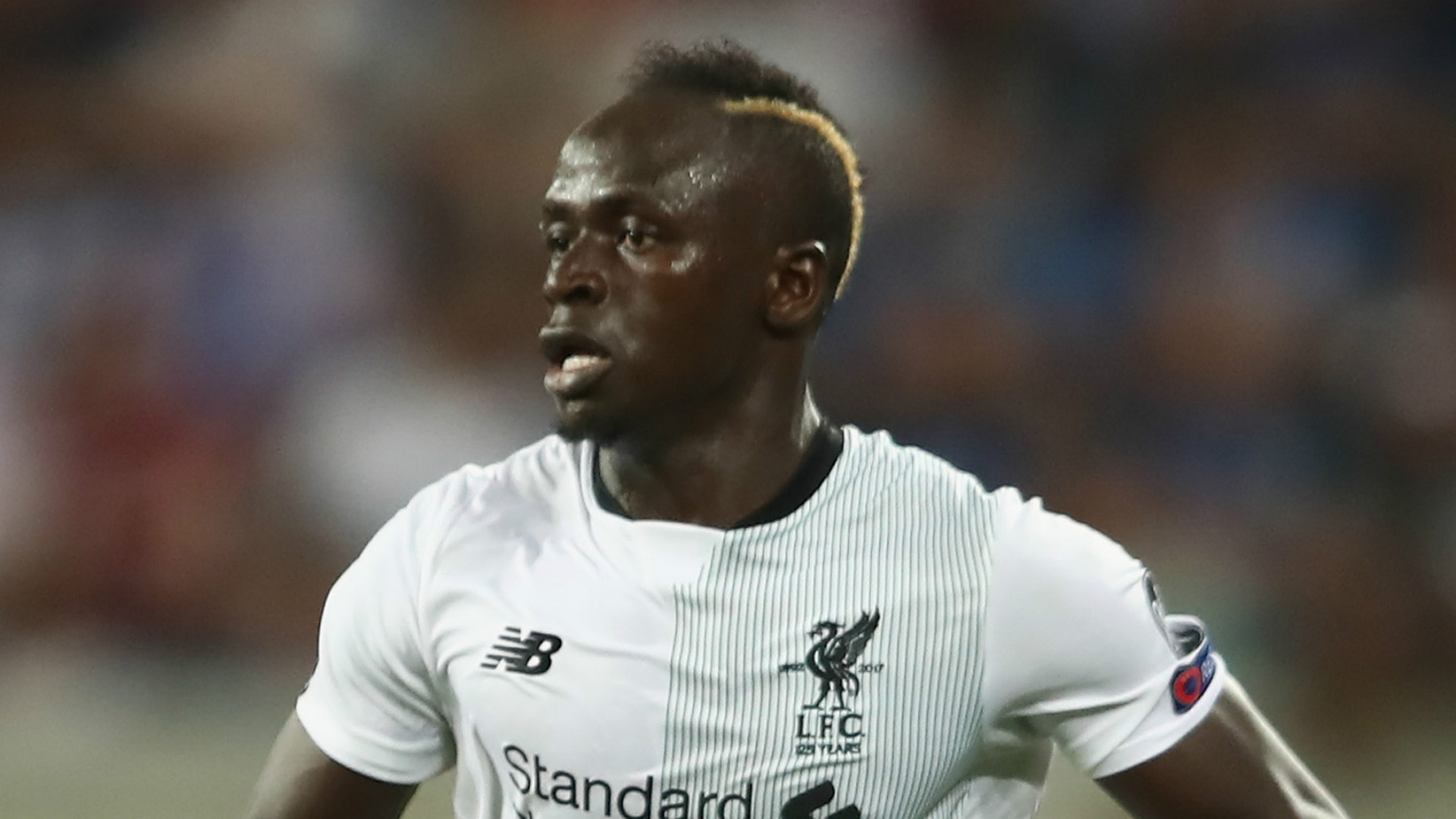 EXTRA TIME: Liverpool's Mane campaigns against slavery in Libya