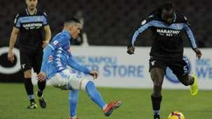 Josè Callejon Jordan Lukaku Napoli Lazio Serie A