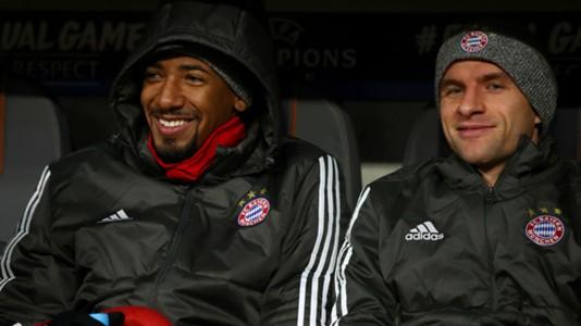 Jerome Boateng Thomas Müller FC Bayern
