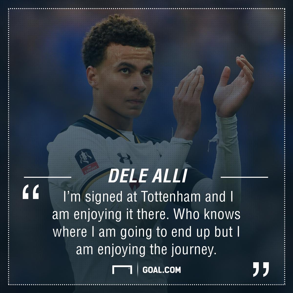 Dele Alli Tottenham future