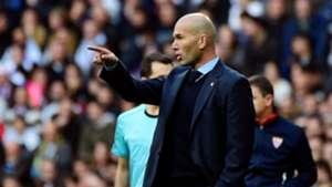 Zinedine Zidane Real Madrid Sevilla LaLiga 09122017
