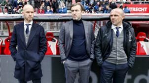 Erik ten Hag, Richard Witschge, Alfred Schreuder, Ajax, Eredivisie 01282018