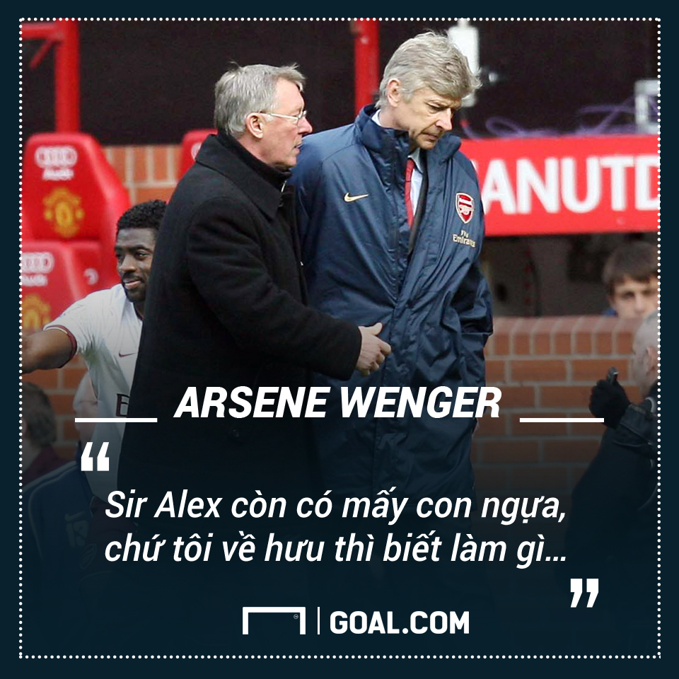 Arsene Wenger Arsenal quote