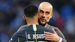 Gabriel Jesus Pep Guardiola Manchester City 2018-19