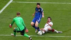 Mats Hummels Messi Neuer Germany Argenina WM 2014