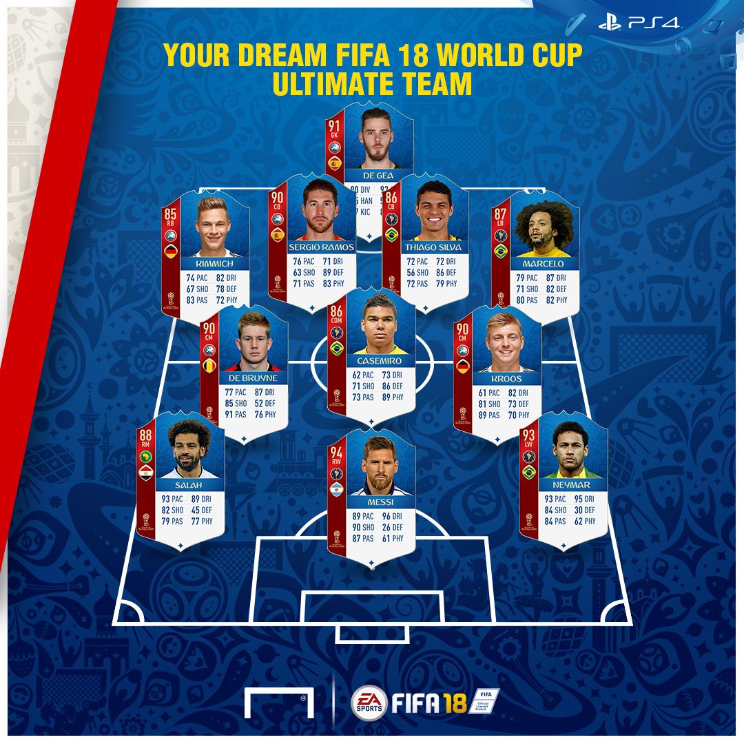 FUT World Cup FAN XI