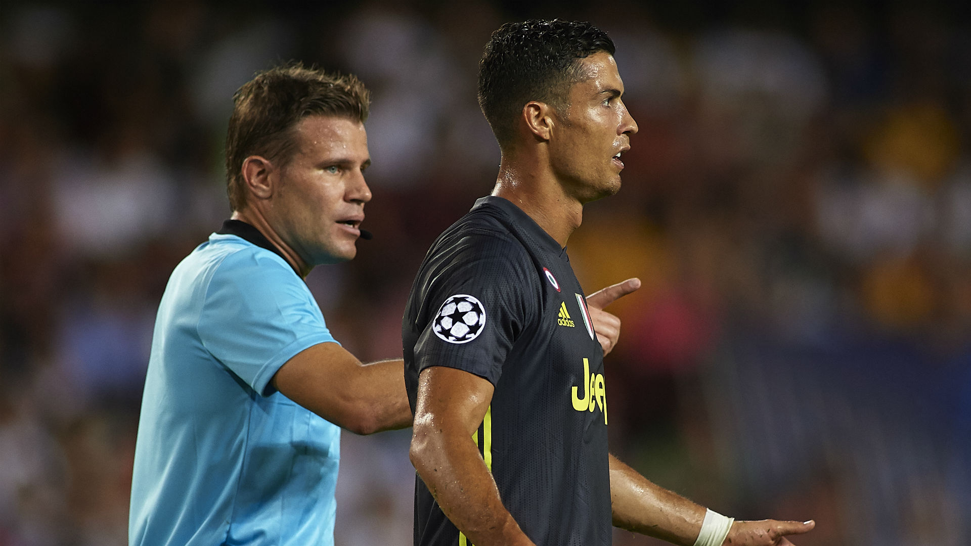 Cristiano Ronaldo Valencia Juventus Champions League 19 09 2018