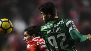 Filip Krovinovic Cristiano Piccini Benfica Sporting Lisboa Primeira Liga 03012017