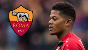 Leon Bailey Leverkusen AS Rom