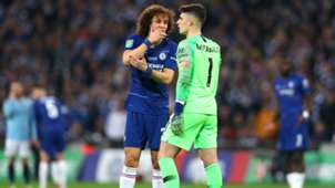 Kepa David Luiz FC Chelsea Manchester City