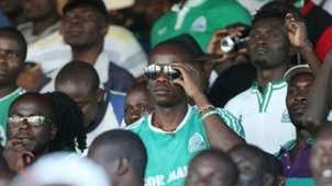 Gor Mahia fans at Thika Stadium.