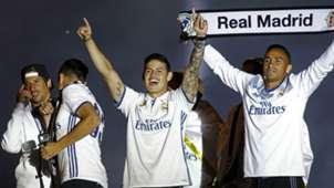James Rodriguez Real Madrid Campeon La Liga 21052017