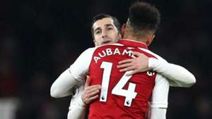 Henrikh Mkhitaryan Pierre-Emerick Aubameyang Arsenal