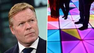 Ronald Koeman Netherlands Dance Floor