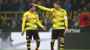 Borussia Dortmund Mario Götze Lukasz Piszczek 10022018