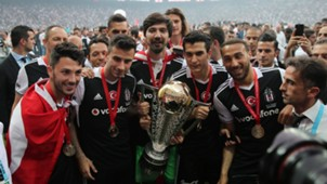 Besiktas champions celebration