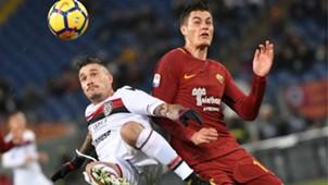 Pisacane Schick Roma Cagliari Serie A