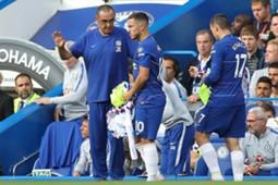 Eden Hazard & Mateo Kovacic
