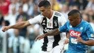 Cristiano Ronaldo Allan Juventus Napoli Serie A