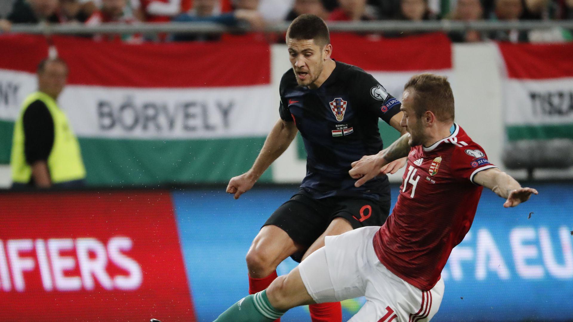 Andrej Kramaric Hungary Croatia