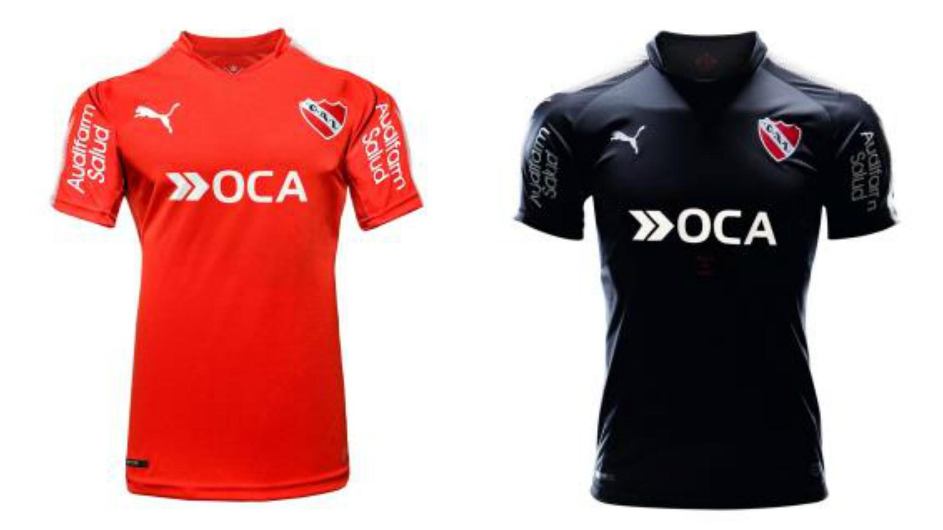 Camiseta titular y alternativa Independiente 2017/2018