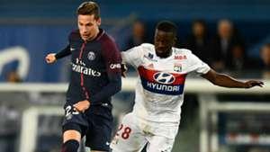 Julian Draxler Ndombele Tanguy PSG Lyon Ligue 1 17092017