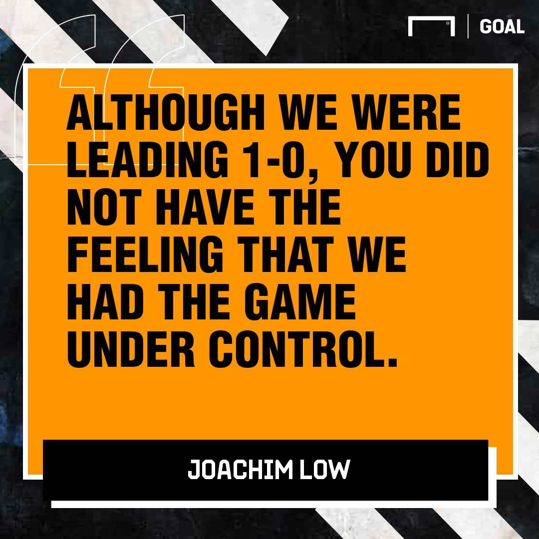 GFX Joachim Low on Netherlands defeat