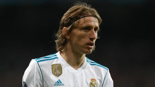 Luka Modric Real Madrid 2017-18