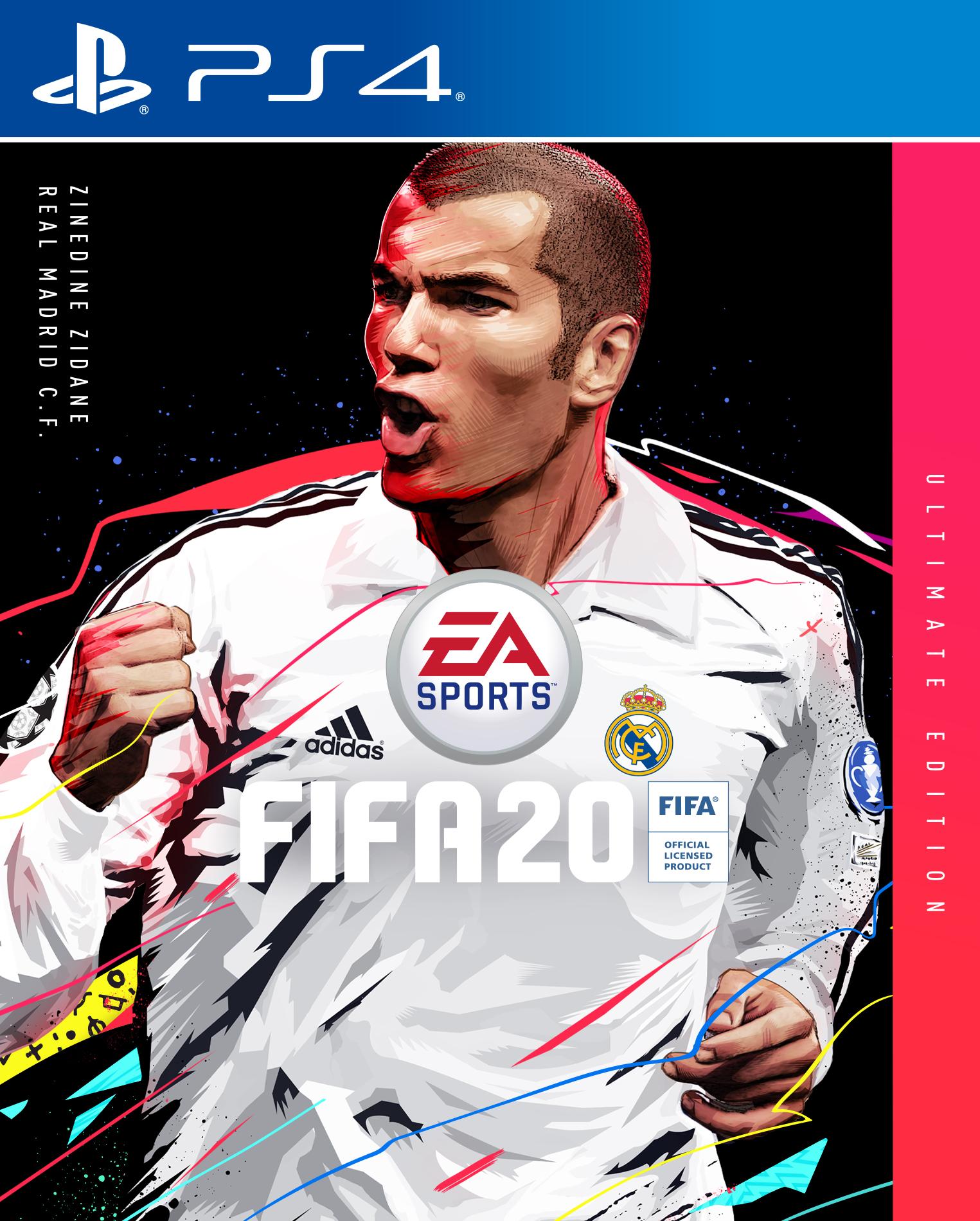 fifa 20 zidane cover