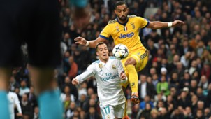 Vazquez Benatia Real Madrid Juventus Champions League