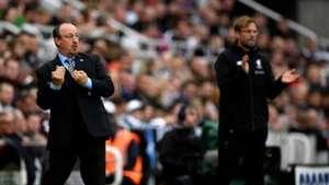 Rafa Benitez Jurgen Klopp Newcastle Liverpool