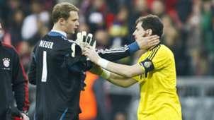 ONLY GERMANY Manuel Neuer Iker Casillas Champions League 2012