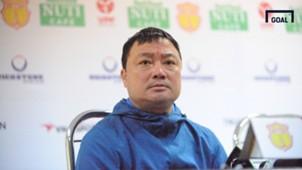 HLV Trương Việt Hoàng / Vòng 3 V.League 2018 / Nam Định vs Hải Phòng