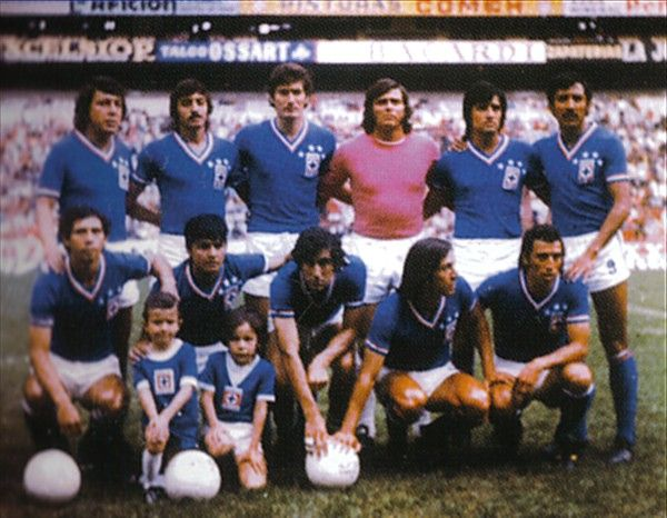 cruz azul campeon 70