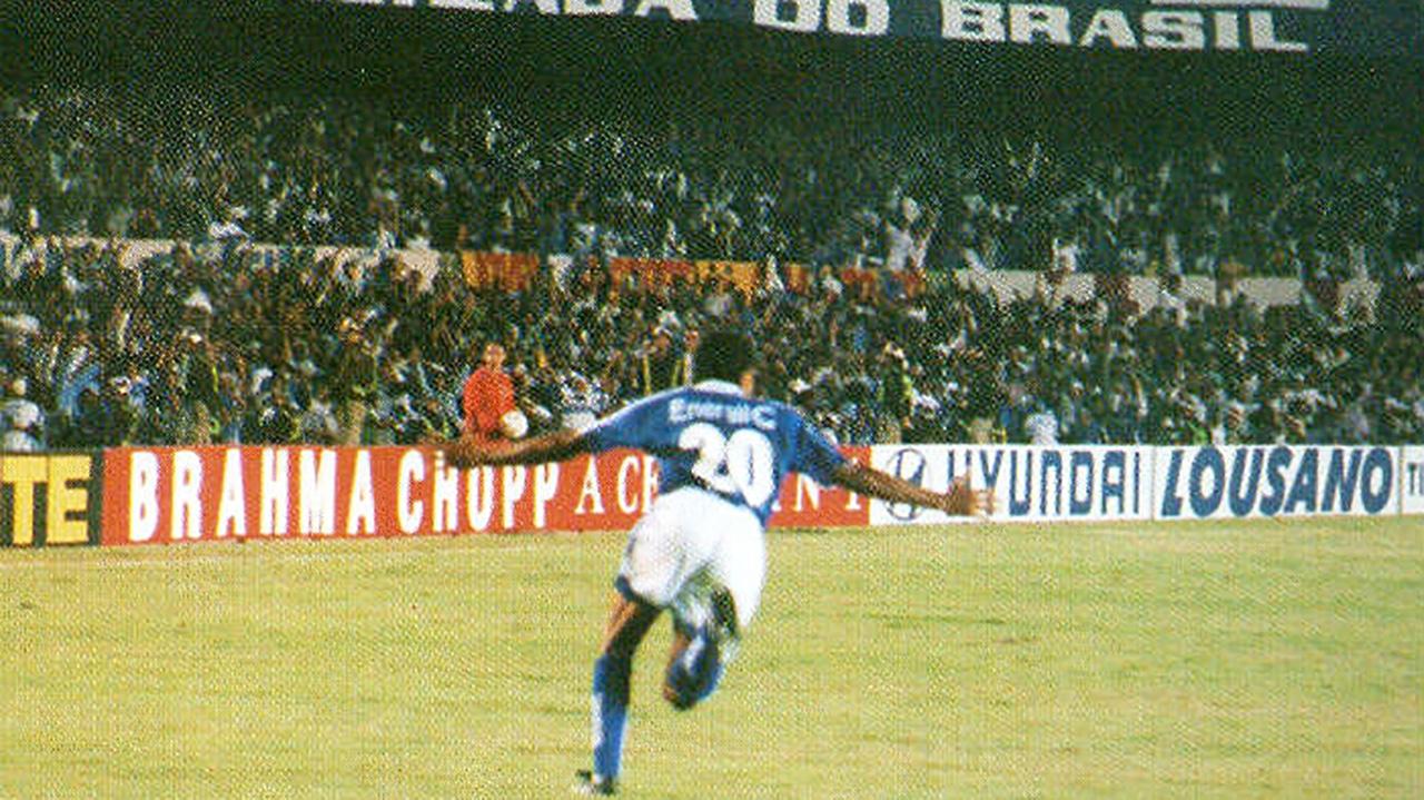 Elivelton Cruzeiro Libertadores 1997
