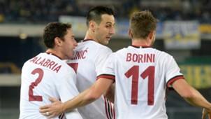 Nikola Kalinic Fabio Borini Chievo Milan Serie A