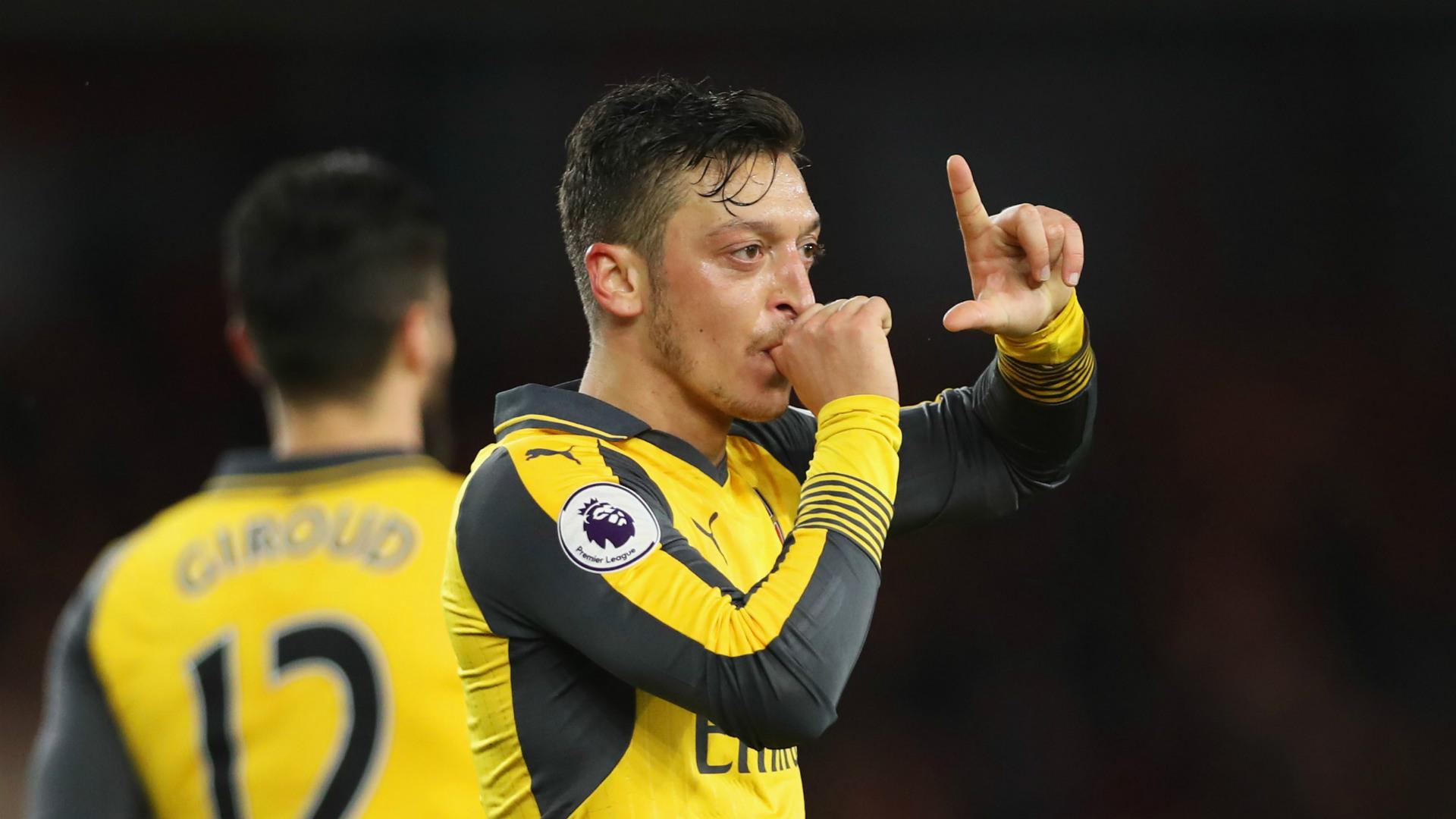 Mesut Ozil Arsenal 2017