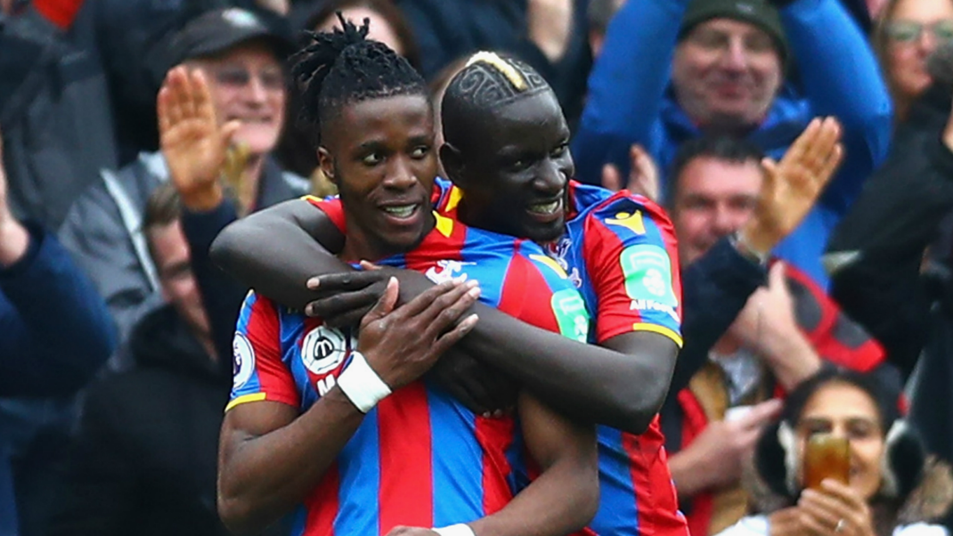 Palace ease relegation fears with 5-0 rout of 10-man Leicester