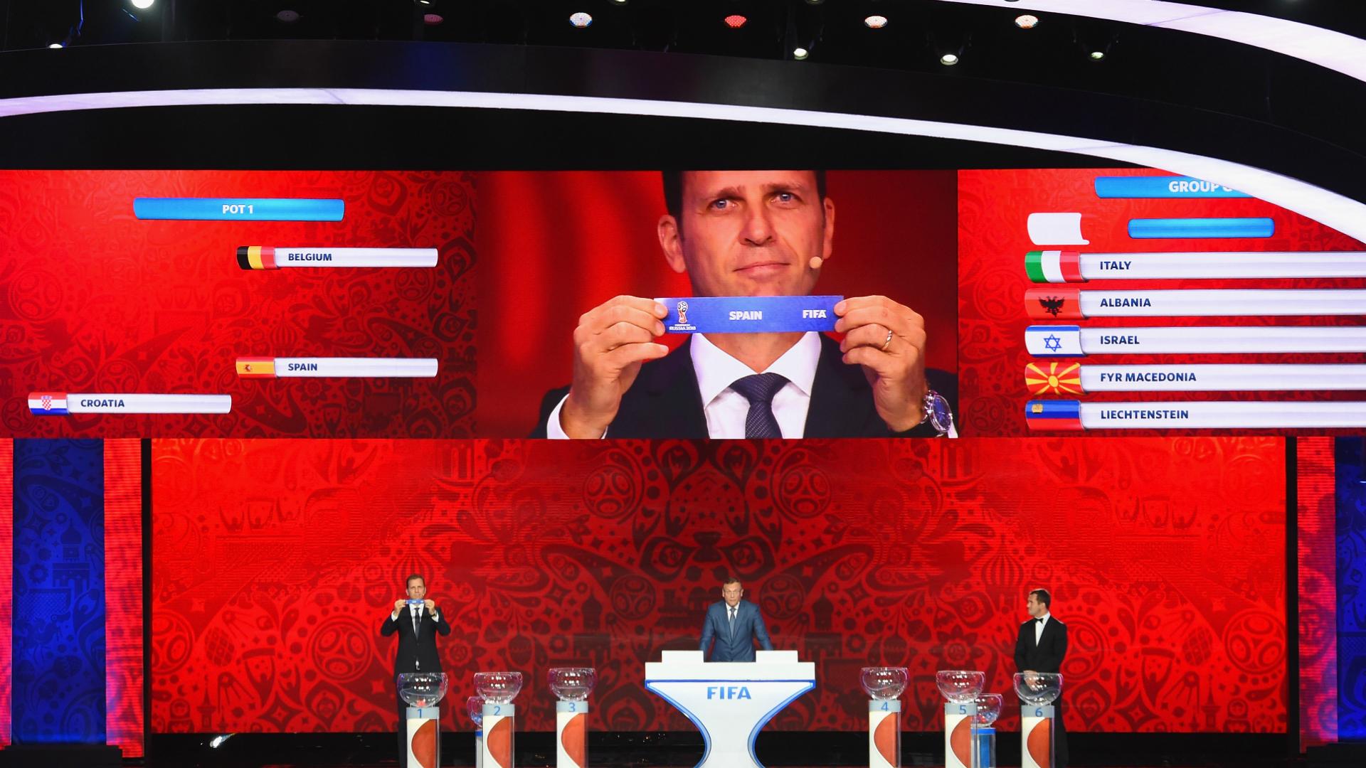 Russia 2018: Definidos os potes para sorteio da Copa do Mundo